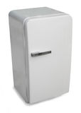 Refrigerador de la vendimia Fotografía de archivo libre de regalías