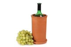 Refrigerador de vino Imagenes de archivo