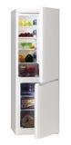 Refrigerador del blanco de dos puertas Imagen de archivo