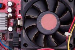 Refrigerador del ordenador Imagen de archivo libre de regalías