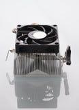 Refrigerador del procesador del ordenador Foto de archivo libre de regalías
