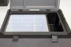 Refrigerador del rectángulo de hielo fotografía de archivo libre de regalías