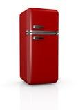 Refrigerador del vintage Foto de archivo