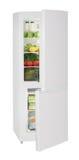 Refrigerador do branco de duas portas Fotos de Stock Royalty Free