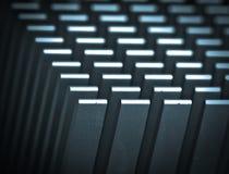 Refrigerador do cartão-matriz Imagens de Stock