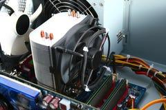 Refrigerador do processador Fotografia de Stock Royalty Free