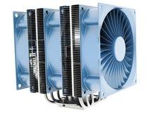Refrigerador do processador central Fotografia de Stock Royalty Free