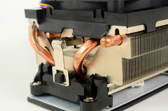 Refrigerador do processador central Fotos de Stock