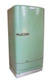Refrigerador do vintage Foto de Stock Royalty Free