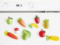 Refrigerador dos ímãs ilustração royalty free