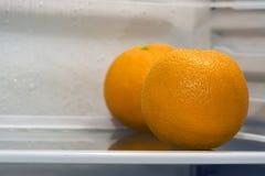 Refrigerador interior Fotos de archivo