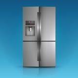 Refrigerador moderno Foto de archivo
