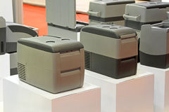 Refrigerador móvil Imagenes de archivo