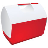 Refrigerador portátil Imagen de archivo