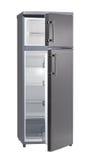 Refrigerador vacío. imágenes de archivo libres de regalías