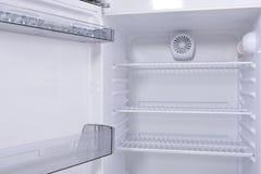 Refrigerador vacío Fotografía de archivo libre de regalías