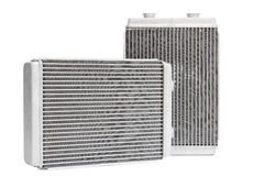 Refrigerar automotivo diferente do radiador Imagens de Stock
