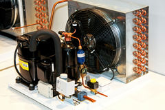 Refrigerar industrial Fotografia de Stock