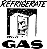 Refrigerate With Gas Royalty Free Stock Images