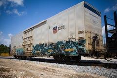 Refrigerated вагон Стоковое Изображение RF