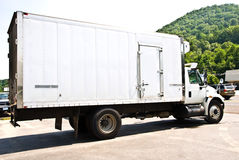 Refrigerated Delivery Truck Royalty Free Stock Photo