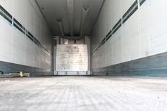 Refrigerated semitrailer Royalty Free Stock Image