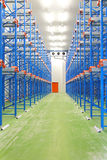 Refrigerated Warehouse Stock Images