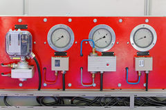 Refrigeration control Royalty Free Stock Photo
