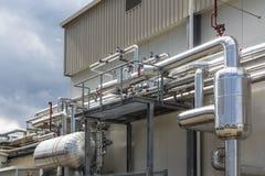 Refrigeration plant Royalty Free Stock Photo
