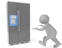 Refrigerator Royalty Free Stock Photos