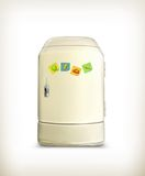 Refrigerator. Computer illustration on white background stock illustration