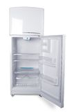 Refrigerator 4. Small refrigerator in white background Royalty Free Stock Photo