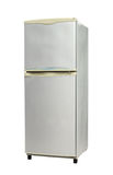 Refrigerator. (with clipping path) isolated on white background Stock Photo