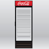 Refrigerator Coca-Cola Stock Images