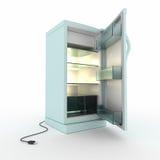 Refrigerator. Royalty Free Stock Image