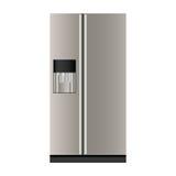 Refrigerator or fridge icon image Royalty Free Stock Photography
