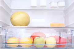 In the refrigerator Royalty Free Stock Image