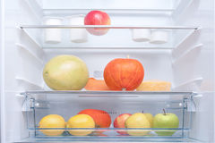 In the refrigerator Royalty Free Stock Photos