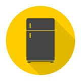Refrigerator icon Stock Photography