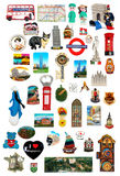 Refrigerator magnet collections Royalty Free Stock Photography