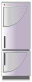 Refrigerator, vector illustration Stock Image