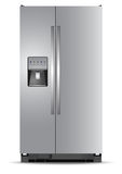 Refrigerator, vector, illustration Royalty Free Stock Photo