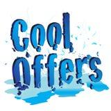 Refrigere ofertas Fotografia de Stock