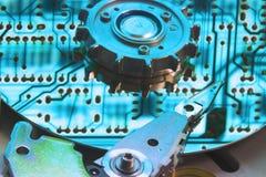 Refrigere a placa de circuito refletindo Fotos de Stock