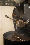 Refroidissement de brûleur de café Photo stock