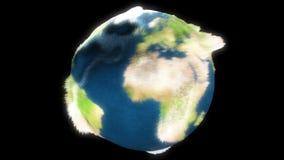 Refroidissement de la terre illustration de vecteur