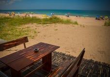 Refroidissement du côté de la Mer Noire Photo libre de droits