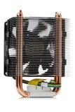 Refroidisseur puissant de CPU photo libre de droits