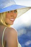 Refroidissez à la plage aussi Photos libres de droits