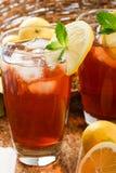 Refroidissez, en régénérant le thé glacé Photo stock